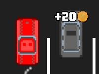Флеш игра Пиксельный автомобиль