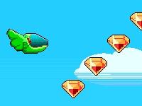 Флеш игра Пиксельный корабль