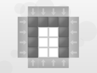 Флеш игра Пиктогрид: Повтори фигуру