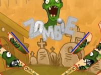 Флеш игра Пинбол в стиле зомби