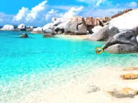Флеш игра Пинг понг на пляже