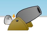 Флеш игра Пингвин с пушкой