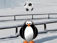 Флеш игра Пингвин звезда футбола