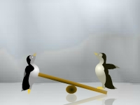 Флеш игра Пингвиноид