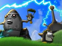 Флеш игра Пингвины атакуют 3
