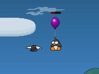 Флеш игра Пингвины хотят летать