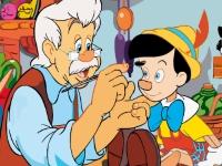 Флеш игра Пиноккио: Пазл