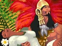 Флеш игра Пасьянс: Пирамиды ацтеков
