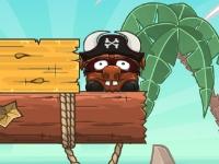 Флеш игра Пират Храбрый Бык