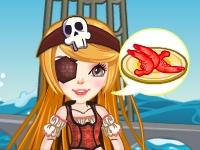 Флеш игра Пиратский ресторан морепродуктов
