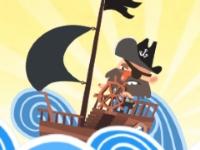 Флеш игра Пираты: Три в ряд