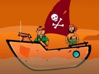 Флеш игра Пираты атакуют!