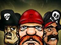 Флеш игра Пираты красного моря