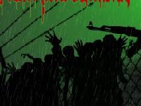 Флеш игра Пистолет, дождь и зомби