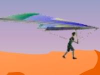 Флеш игра Планер в каньоне