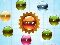 Флеш игра Планеты и числа