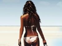 Флеш игра Пляжная мода