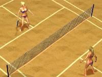 Флеш игра Пляжный теннис