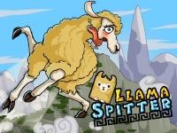 Флеш игра Плюющаяся лама