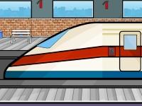 Флеш игра Побег из безлюдного метро