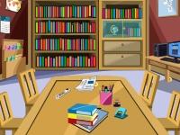 Флеш игра Побег из библиотеки