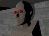 Флеш игра Побег из часовни 3D