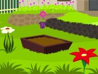 Флеш игра Побег из цветочного сада