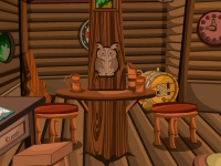 Флеш игра Побег из домика на дереве