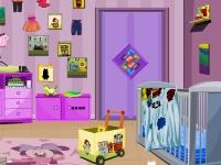 Флеш игра Побег из грязной детской комнаты