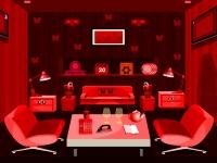 Флеш игра Побег из королевской красной комнаты