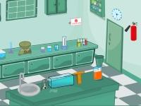 Флеш игра Побег из лаборатории