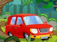 Флеш игра Побег из леса на автомобиле