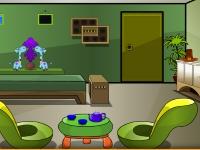 Флеш игра Побег из одинокой комнаты