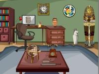 Флеш игра Побег из офиса археолога
