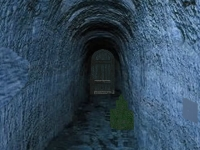 Флеш игра Побег из темной катакомбы
