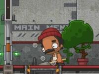 Флеш игра Побег из высокотехнологичной тюрьмы