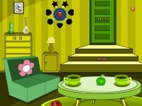 Флеш игра Побег из зеленой комнаты