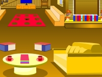 Флеш игра Побег из желтой комнаты
