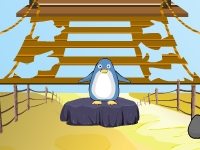 Флеш игра Побег милого пингвина
