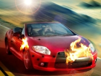 Флеш игра Побег на шоссе