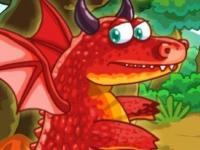 Флеш игра Побег от дракона