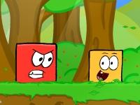 Флеш игра Побег от красного блока