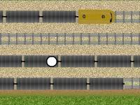 Флеш игра Побег от полиции по крышам поездов