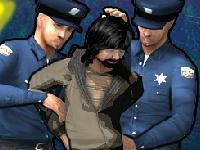 Флеш игра Побег от полиции