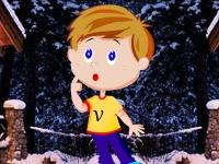 Флеш игра Побег потерявшегося мальчика