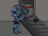 Флеш игра Побег робота