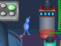 Флеш игра Побег с инопланетного космического корабля