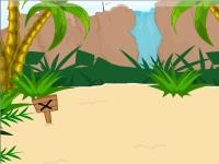 Флеш игра Побег с острова