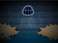 Флеш игра Побег с темницы замка