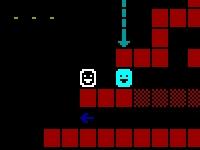 Флеш игра Побег с замка в формате ASCII